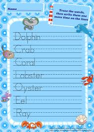 Handwriting Worksheets 4th Grade Activity For Kids Animals Worksheets Zoo Animals Worksheets