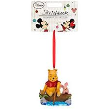 disney piglet and winnie the pooh ornament home kitchen