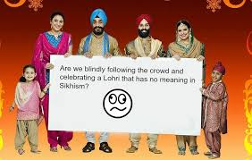 why lohri is celebrated and the significance of lohri for sikhs