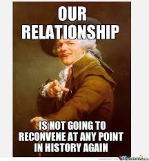 relationship joseph ducreux by michaelthetroll meme center