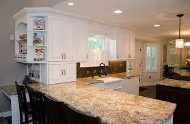 Kitchen Peninsula Design Kitchen With Island And Peninsula With Design Photo Oepsym