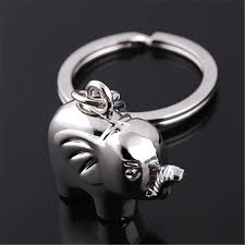 baby keychains fd3414 new baby elephant creative metal keychains keyrings