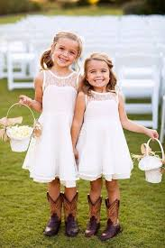 flower girl wedding outstanding rustic wedding flower girl dresses 1000 ideas about