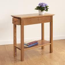golden oak end tables chairside drawer table hardwood slender end table manchester wood