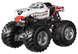 monster jam truck amazon com wheels monster jam monster mutt dalmatian die cast