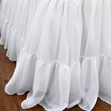 Shabby Chic Skirts by Ruffle Bed Skirt