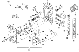patent us20100263418 mortise lock assembly google patentsuche