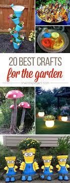 Gardening Craft Ideas 25 Unique Garden Crafts Ideas On Pinterest Diy Yard Decor Yard
