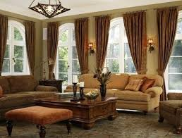 Curtains For Large Living Room Windows Ideas Endearing Curtains For Large Living Room Windows Decor With