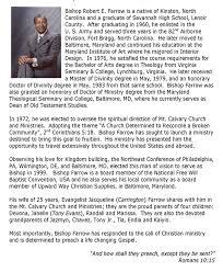 mt calvary church and ministries
