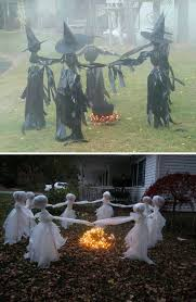 top 20 ideas turn trash bags into creepy halloween decorations