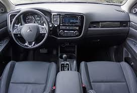 mitsubishi suv 2016 interior 2016 mitsubishi outlander gt s awc road test review carcostcanada