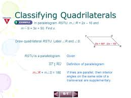 Same Side Interior Definition 6 1 Classifying Quadrilaterals Page Ppt Download