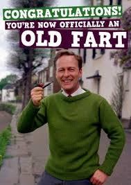 Old Fart Meme - old fart happy birthday card old funny rude birthday happy