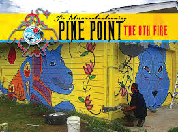 pine point solar installation honor the earth pinepoint wolf anthony mural graphic jpg