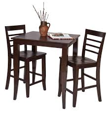 Espresso Bistro Table 45 Pub Bistro Table Sets Bar Tables And Chairs Sets