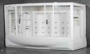 Bath Shower Combo Unit Modern Tub Shower Steam Shower With Bathtub Luxury Steam Shower