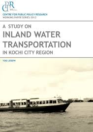 Draft Central Coast Regional Transport Strategy A Study On Inland Water Transportation In Kochi City Region Pdf