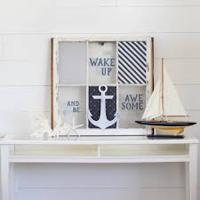 Anchor Home Decor by Diy Project Idea Nautical Window Decor Paper Riot