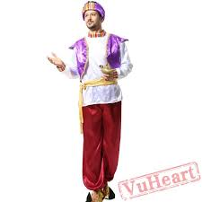 arab king costume aladdin lamp