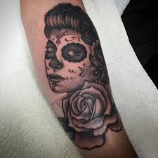 day of the dead by nic lebrun tattoonow
