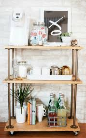 kitchen coffee bar ideas kitchen coffee bars 30 diy kitchen coffee area ideas
