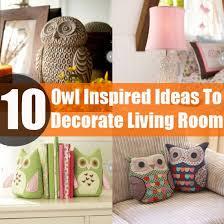 diy owl decor home living room ideas
