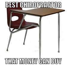 Meme Throws Table - best chiropractor ever beheading boredom