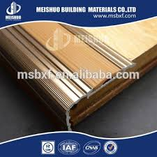 aluminum rubber indoor stair nose molding for antislip strip buy