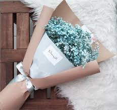 baby s breath bouquet baby s breath bouquet giftr malaysia s leading online gift shop