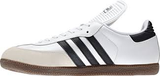 white samba adidas men s samba classic indoor soccer shoe s sporting goods