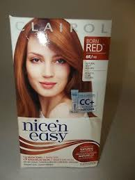 clairol nice n easy natural light auburn nice n easy permanent color 110 natural light auburn 1 each
