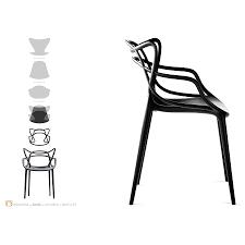 masters stool designed by philippe starck kartell orange skin