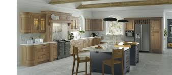 Light Oak Kitchen Dante Light Oak Kitchen From Kitchen Stori Stockpile Kitchens Uk