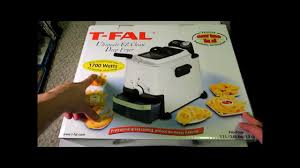 T Fal Toaster Unboxing T Fal Ultimate Ez Clean Deep Fryer Review Youtube