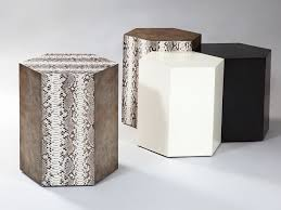 Hexagon Side Table Side Tables Robicara Luxury Furniture