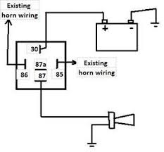 bosch horn relay wiring diagram wiring diagram and schematic design