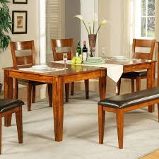 round dining table for 6 with leaf wood rectangle dining tables that seats 6 under 500
