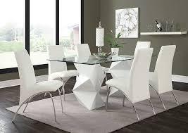 black and white kitchen table leonardo furniture rockville center ny white white dining table