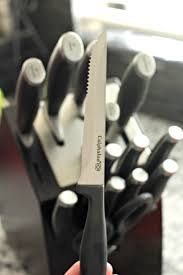 calphalon kitchen knives self sharpening cutlery with calphalon knives clever housewife