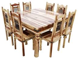 Dallas Pc Wood Square Dining Set Dining Sets By Sierra Living - Dining room furniture dallas