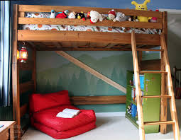 How To Turn A Bunk Bed Into A Loft Bed - Half bunk bed