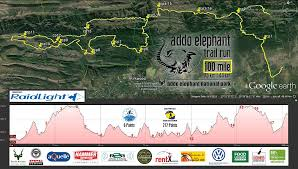 Map Run Route by Addo Elephant Trail Run World U0027s Marathons