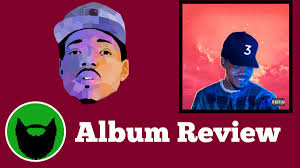 coloring book album review chance the rapper real men report