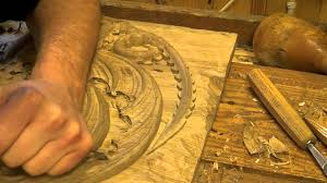 cool wood carvings carving the house targaryen
