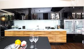 Ultra Modern Kitchen Designs Ultra Modern And Sleek Black And Wood Kitchens