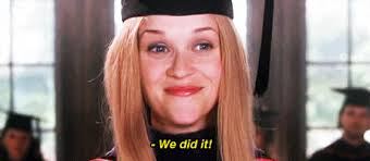 Legally Blonde Meme - we did it legally blonde elle smiling happy animated gif popkey
