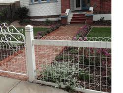 galvanized ornamental vintage style looped wire fence 3 t 100