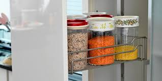 how to store food in cupboards what to put where in the kitchen food