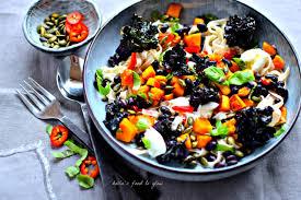 black bean flower sprout u0026 squash pasta supper recipe food to glow